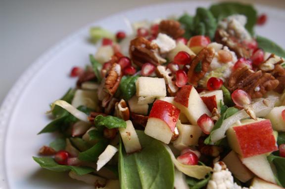 fall-dorf salad.