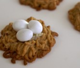 spring cookie nests.