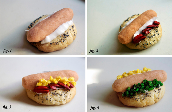 almond cookies, shaped like hot dogs. – A Periodic Table