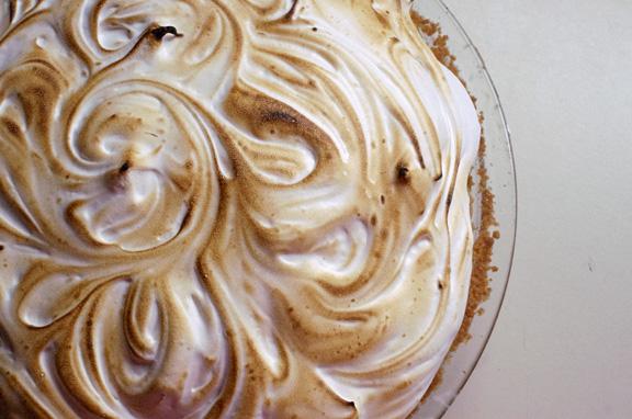 banana cream pie + toasted marshmallow fluff.