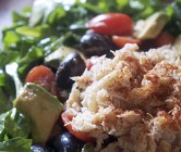 summer crab salad.