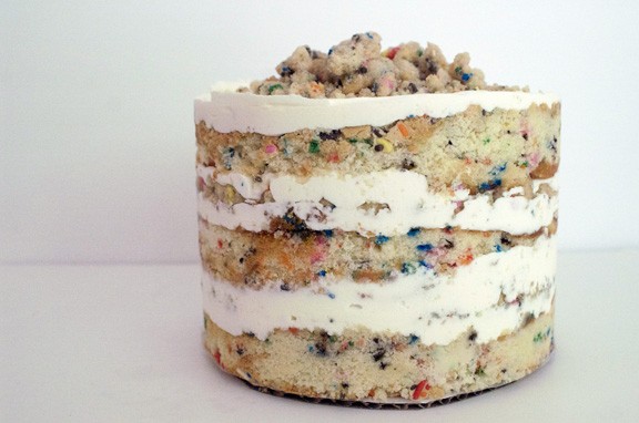 the momofuku confetti birthday cake.