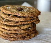 hazelnut chocolate cookies.