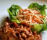 jicama + carrot slaw.