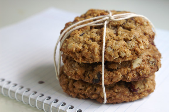 stuffed oatmeal cookies.