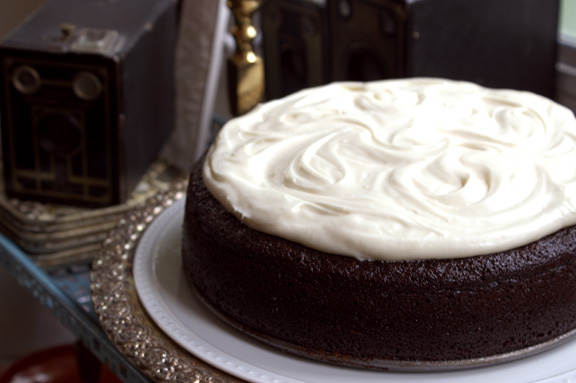 chocolate espresso Guinness cake.