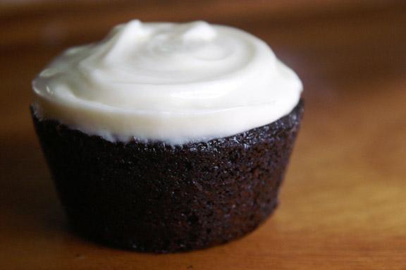 chocolate espresso guinness mini-cakes.