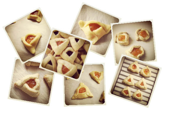 there were so many hamantaschen.