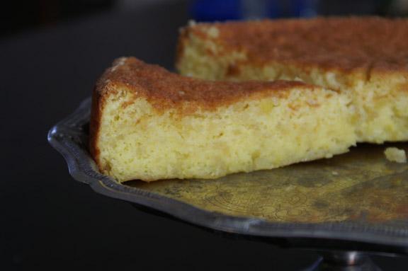 almond lemon passover cake.