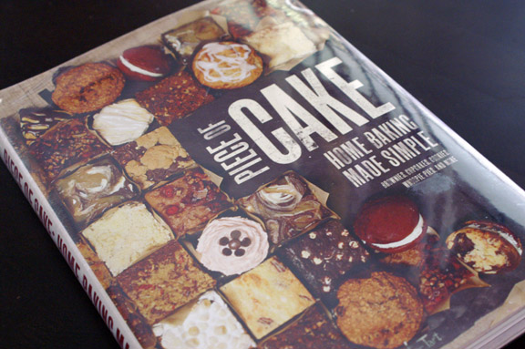 piece of cake cookbook.