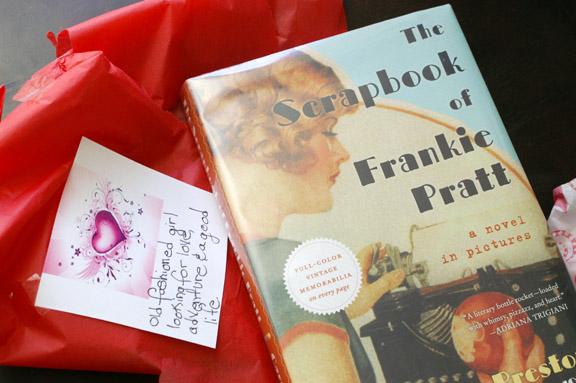 the scrapbook of frankie pratt.