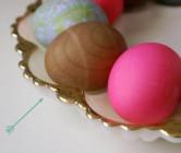 faux bois eggs.
