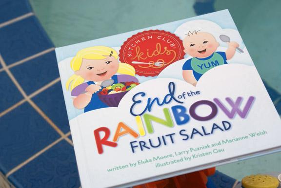 end of the rainbow fruit salad.