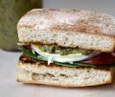copycat panera bread mediterranean egg sandwich.
