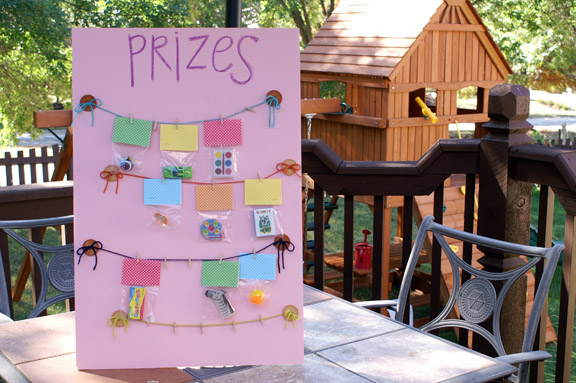 diy prize board tutorial.