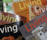 martha stewart living magazines.