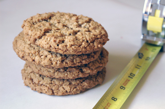 oatmeal cookie pies.