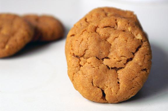 spicy peanut gochujang cookies.