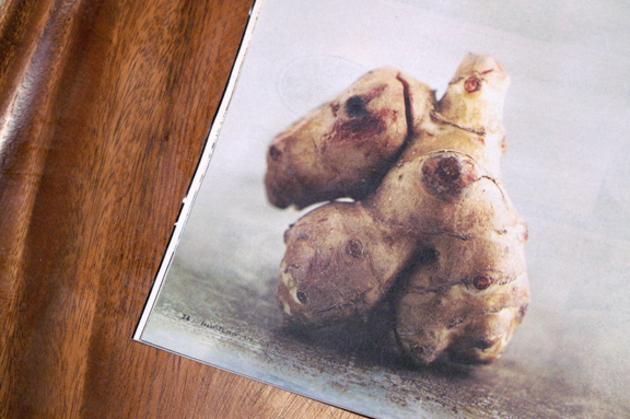 feast magazine april 2014: sunchokes.