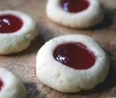 feast magazine, september 2014: prickly pear margarita cookies.