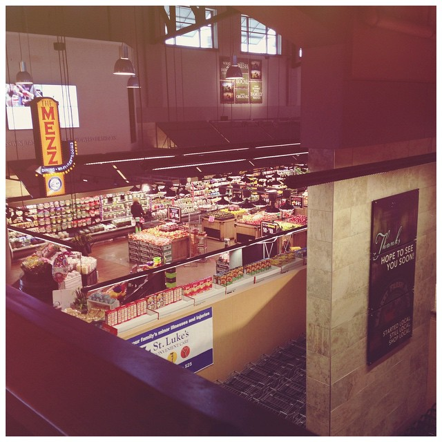 current status: cheating on my regular Dierbergs with the Dierbergs…