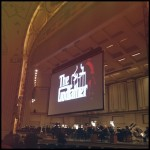getting ready to see the Godfather with score played LIVE,…