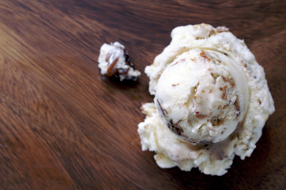 pecan sticky bun ice cream and a new series