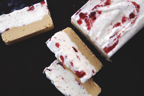 PB+J with Milk Ice Cream Terrine