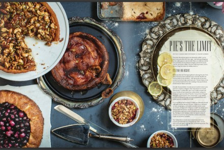 Pie's the Limit: All the thanksgiving desserts for Feast Magazine.