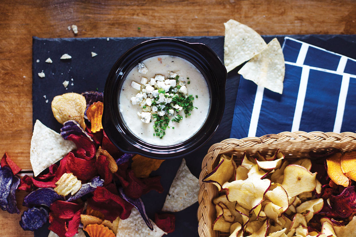 blue cheese queso