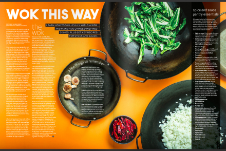 feast magazine feature: Wok This Way