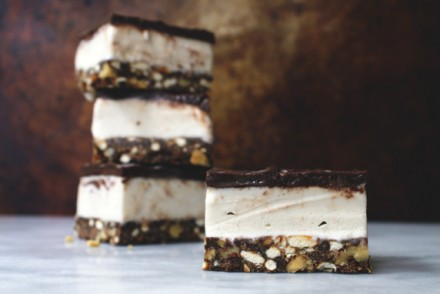 baked, occasionally: nanaimo ice cream bars.