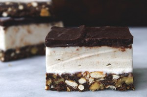 baked, occasionally: nanaimo ice cream bars.