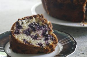 baked occasionally: Nonnie's blueberry buckle. | a periodic table