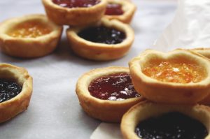 jam tarts. | a periodic table