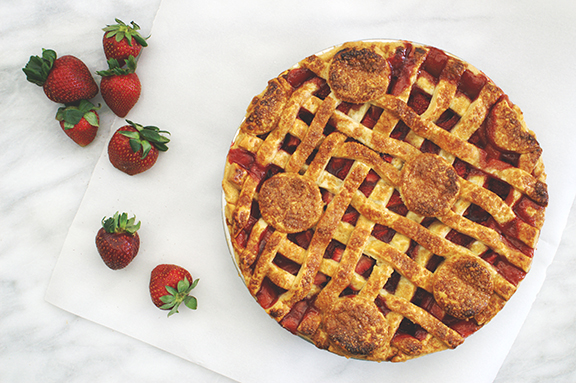 summer strawberry pie. | a periodic table