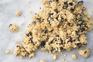 chocolate chip shortbreads. | a periodic table