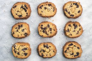 chocolate chip shortbreads.   a periodic table