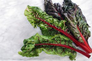 just looking at chard leaves makes me feel healthier.